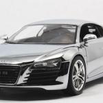 ขาย พรีออเดอร์ โมเดลรถเหล็ก Audi R8 ฉาบเงิน 1:24 สเกล มี โปรโมชั่น