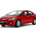 Pre Order โมเดลรถ Honda Civic gen 9 2011 แดง 1:18 รุ่นหายาก งานคุณภาพ มีโปรโมชั่น