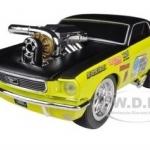 พรีออเดอร์ รถเหล็ก รถโมเดล US Muscle 1966 Ford Mustang Yellow Gasser สีเหลือง Maisto สเกล 1:24