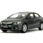 Pre Order โมเดลรถ Honda Civic gen 9 2011 เทาดำ 1:18 รุ่นหายาก งานคุณภาพ มีโปรโมชั่น