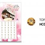 แฮร์คริสตัล 96 เม็ด - HC B 03