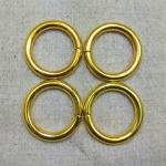 ห่วงกลม1นิ้วหนา ทอง (ลวด5mm)