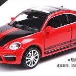 พร้อมส่ง รถโมเดล รถเหล็ก มีไฟมีเสียง Volkswagen VW GSR 1:32 มี โปรโมชั่น