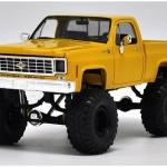 ขาย pre order โมเดลรถยนต์ Chevrolet Pick Up เหลือง 1:24 หายาก