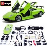 ขาย พรีออเดอร์ โมเดลรถเหล็ก โมเดลรถยนต์ ประกอบ Lamborghini Murcielage LP670-4 SV เขียว 1:24 สเกล มี โปรโมชั่น