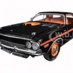 พรีออเดอร์ รถเหล็ก รถโมเดล US 1970 DODGE CHALLENGER RT 426 สีดำ ฉลอง Dodge ครบ 50 ปี สเกล 1:24
