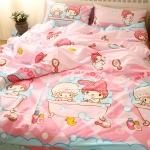 ผ้าปูที่นอน ลายมายเมโลดี้ My Melody Bedding Set