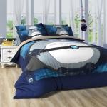 """""""6ฟุต พร้อมส่ง"""" ผ้าปูที่นอน ลายโทโทโร่ Totoro Bedding set"""