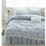 ผ้าปูที่นอน สไตล์เกาหลี Vintage แนววินเทจลูกไม้