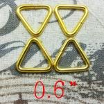 ห่วงสามเหลี่ยม6หุน ทอง