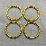 ห่วงกลม1.5นิ้วหนา ทอง (ลวด5mm)