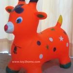 ตุ๊กตายางรูปสัตว์เด้งดึ๋ง รูปแกะส้ม