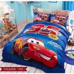 ผ้าปูที่นอน ลายรถแข่ง Car Mcqueen bedding Set