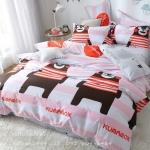 ผ้าปูที่นอนลายหมีดำ คุมะมง Kumamon Bedding Set