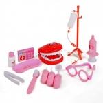 ชุดเครื่องมือหมอฟันสีชมพู Dental Clinic ...ฟรีค่าจัดส่ง