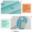 ผ้าม่าน ลายการ์ตูนช้างน้อย สีน้ำเงิน-ขาว thumbnail 9