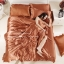 ผ้าปูที่นอน ผ้าซาติน satin 100% สีพื้น thumbnail 1