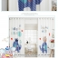 ผ้าม่าน ลายการ์ตูนช้างน้อย สีน้ำเงิน-ขาว thumbnail 7