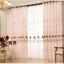 ผ้าม่าน สไตล์ยุโรป งานปัก ลายดอกไม้สีชมพู-พีช thumbnail 1