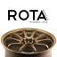 ล้อใหม่ CE28 ROTA แท้ขอบ18 ชุด9800 ปกติ 28000 ถูกกว่าล้อมือสอง thumbnail 2