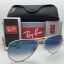 Ray Ban RB3025 001/3f Aviator Blue Gradient 58 mm