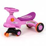 รถดุ๊กดิ๊กมีเสียงมีไฟ (Baby Carriage)..สีม่วง ..ฟรีค่าจัดส่ง