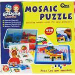Mosaic puzzle (จิ๊กซอร์ตัวต่อแบบโมเสค)