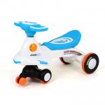 รถดุ๊กดิ๊กมีเสียงมีไฟ (Baby Carriage)..สีฟ้า ..ฟรีค่าจัดส่ง