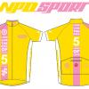 เสื้อปั่นจักรยานแขนสั้น Evo Type LONG LIVE THE KING 2016 : NPD0405