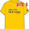 T-SHIRT : LONG LIVE THE KING (SIZE : S)