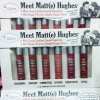 The Balm Meet Matte Hughes 6 mini Long Lasting Liquid Lipstick Set 6