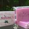สบู่นัทชา กลิ่นบลูเบอร์รี่ Natcha Gluta Blueberry White Soap