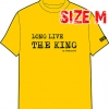 T-SHIRT : LONG LIVE THE KING (SIZE : M)