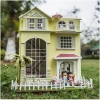 DIY large villa home luxury new dream fairy .. . บ้านตุ๊กตาหลังใหญ่ 3 ชั้น