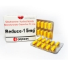 รีดิว Reduce 15 mg. ลดน้ำหนัก สีเหลืองล้วน 1กล่อง 10แผง