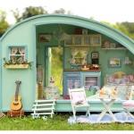DIY Time Travel Hut ..บ้านพักปิคนิคต่างอากาศ