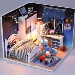 stars diy handmade cabin.. ห้องนอนผู้ชายสุดเท่ ลายใหม่