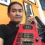 Vintage Hohner Profesionnal G2t Headless Guitar Owned by Prart Aroonrungsi thumbnail 10