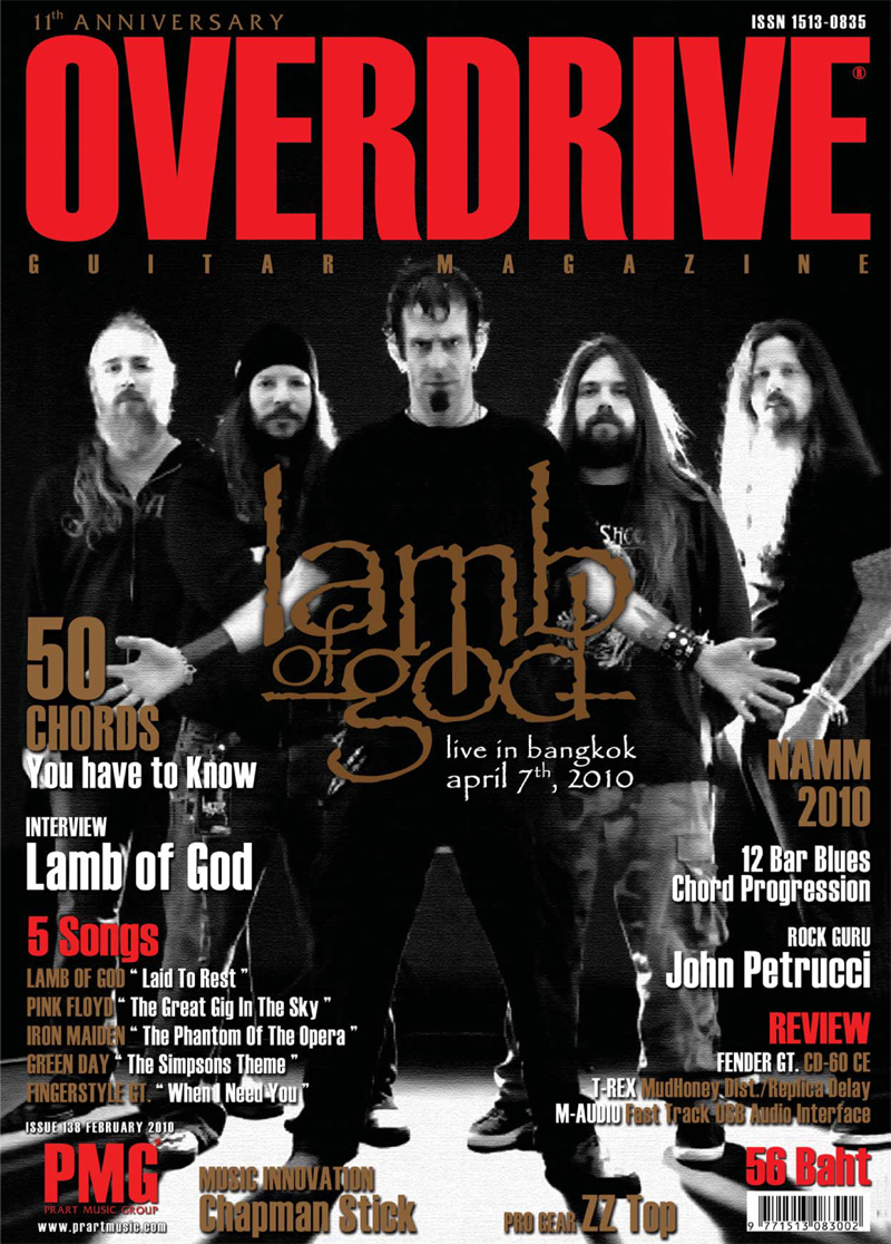 Overdrive Guitar Magazine Issue 138