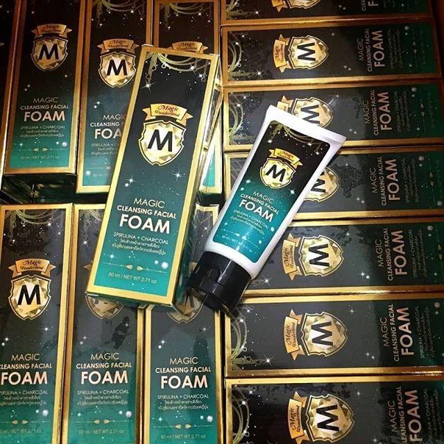 Magic Cleansing Facial Foam by magic wonderland (โฟมล้างหน้า)