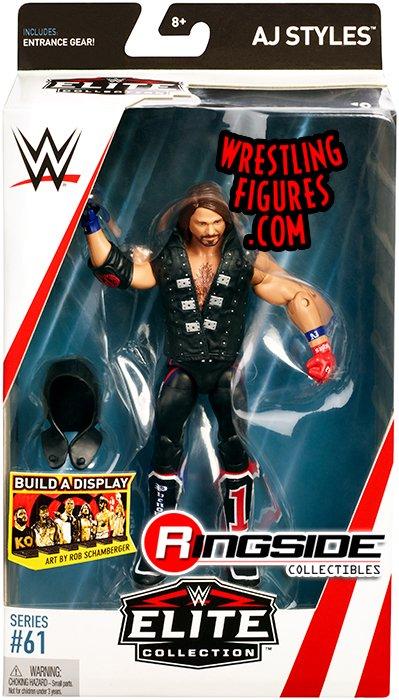 WWE Mattel AJ Styles Series 97 figure loose