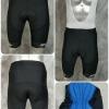 กางเกงปั่นจักรยานขาสั้น NPDSPORT Anti-Slip (ปลายขา Laser Cutting) ปลายขาสีดำ: PS17011