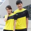 ชุดแบดมินตัน เสื้อแบดมินตัน LI-NING สีเหลือง : 409