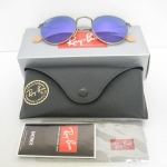 Ray ban RB3447 167/1M Round BRUSHED BRONZE / MIRROR VIOLET 50mm