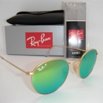 Ray Ban Round Flash RB3447 112/P9 Polarized