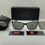 RAY BAN RB4179 601S9A LITEFORCE TECH POLARIZED BLACK/GREEN LENS 62MM
