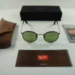 Ray Ban RB3475Q 029/14 Round CraftGUNMETAL FRAME/GREEN LENS 50MM