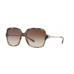 Michael Kors MK2053F 329213 BROWN GREY TORT Smoke Gradient