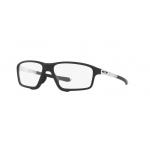 Oakley OX8080-03 CROSSLINK ZERO MATTE BLACK Clear