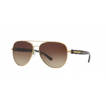 Michael Kors MK1015 112813 GOLD-TONE Smoke Gradient